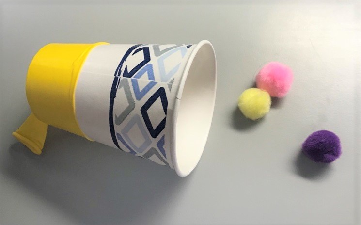 pic of pompom launcher craft