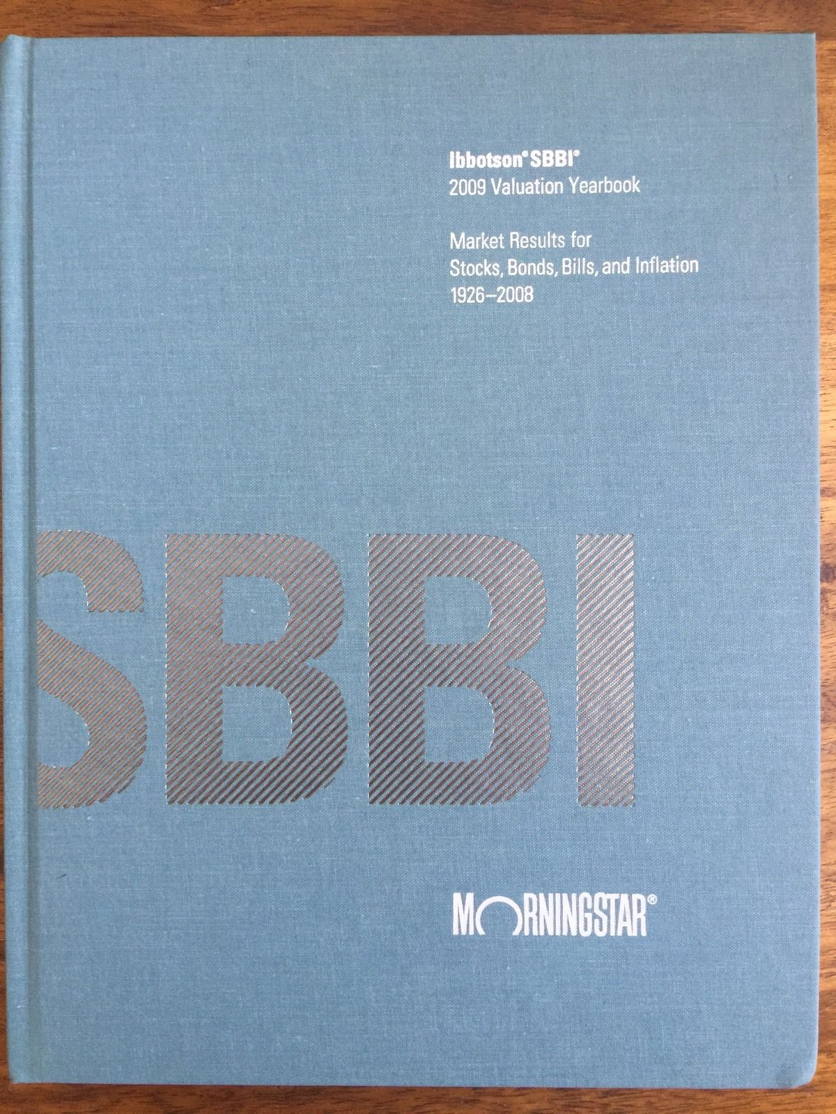 cover of Ibbotson SBBI Valuation Yearbook