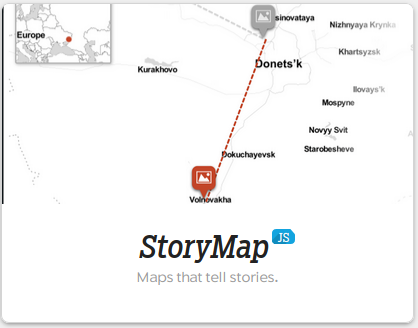 StoryMap JS Thumbnail from Knight Labs
