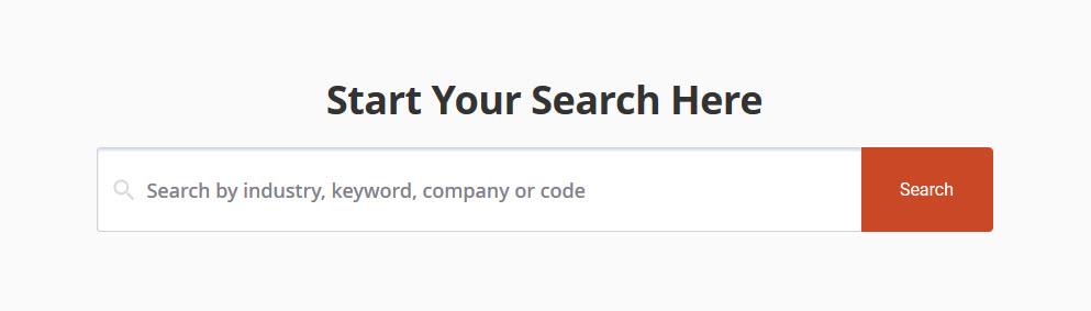 IBISWorld Search Box