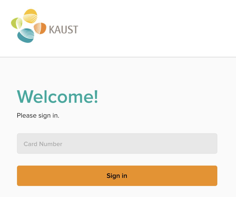 Overdrive Login Using KAUST ID