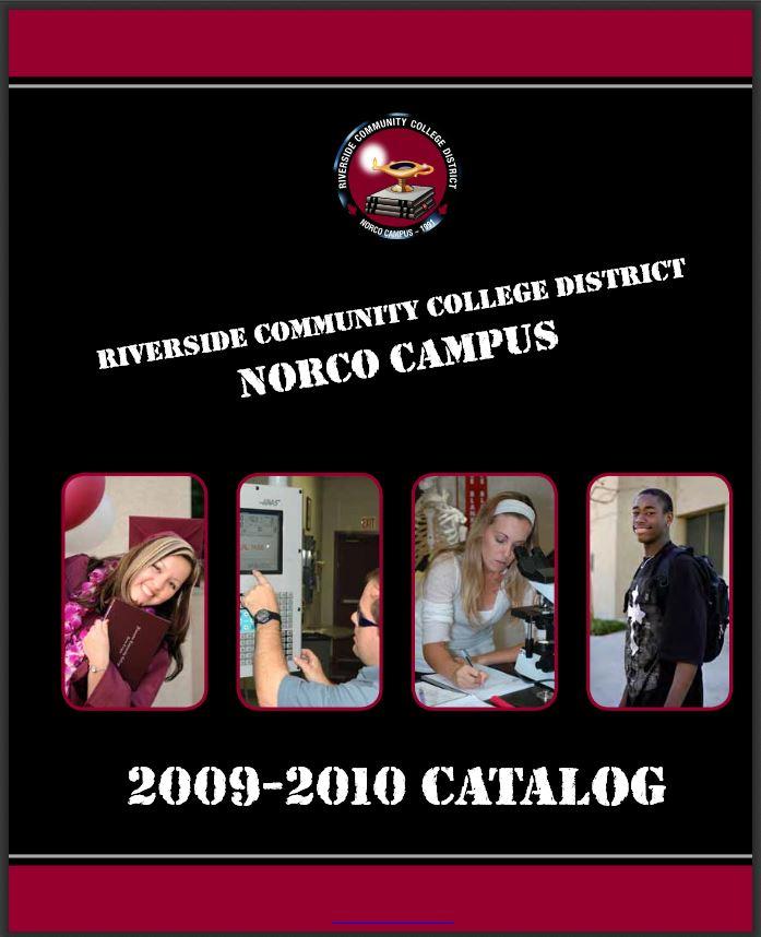 Norco College Catalog