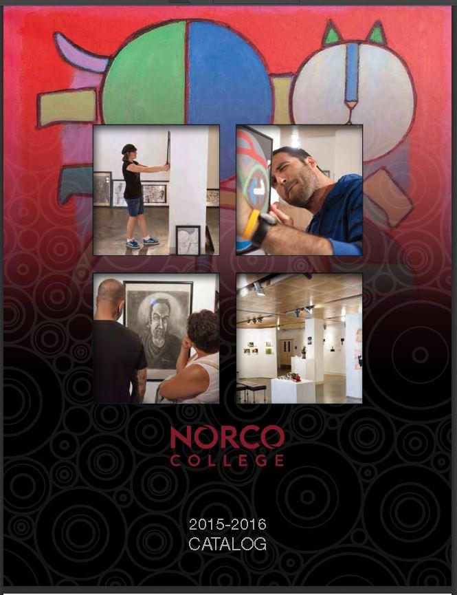 Norco College Catalog 2015-2016