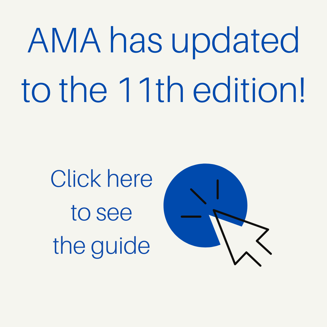 click here for new AMA 11 guide