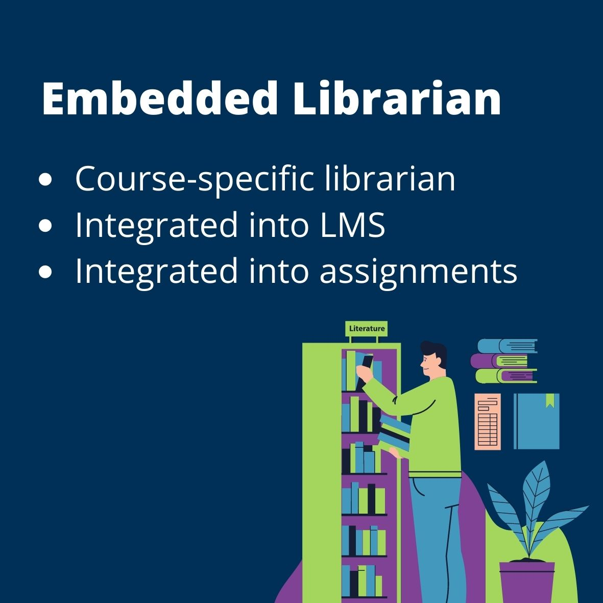 embedded librarian definition