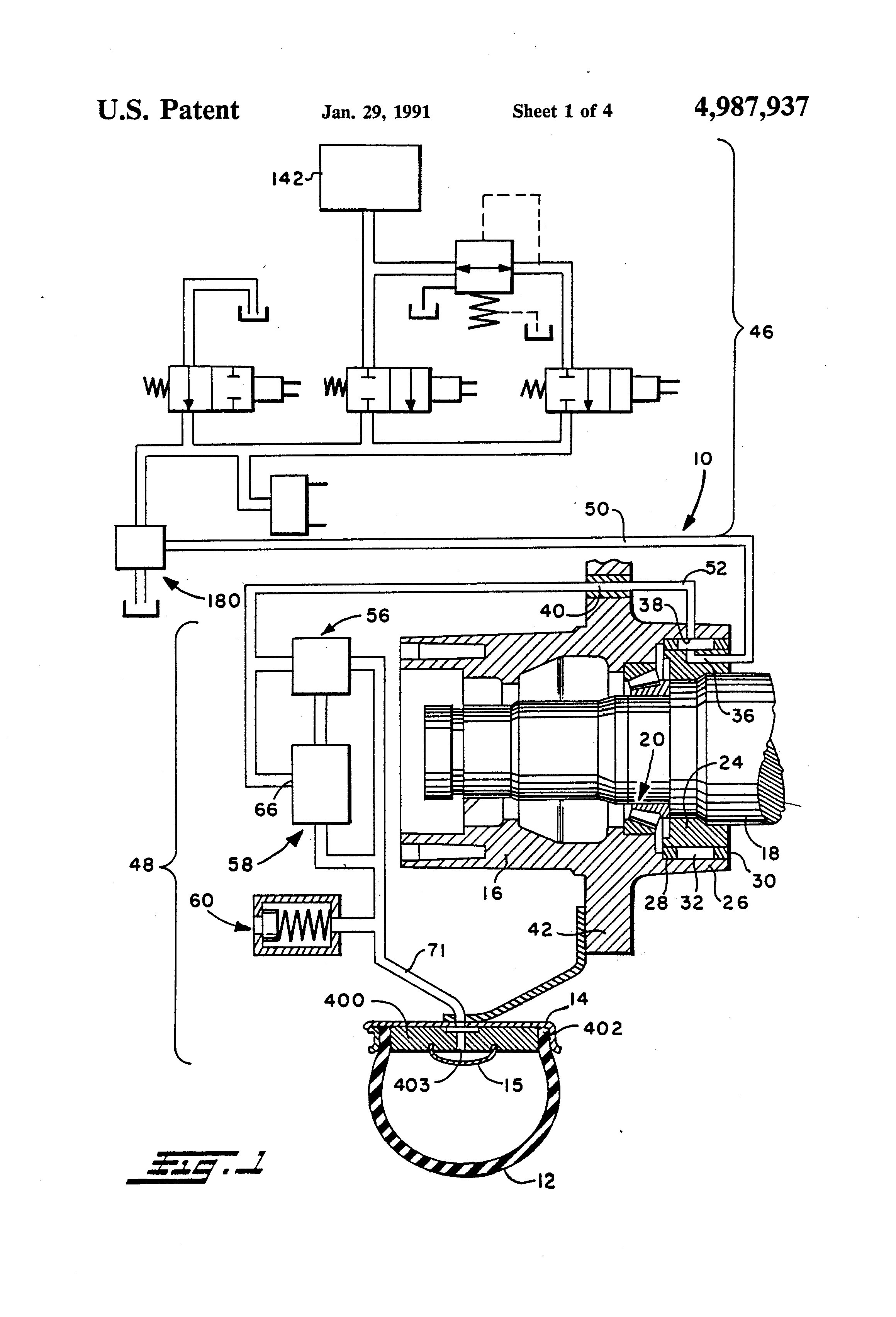 Patent for a tire pressure adjustment device