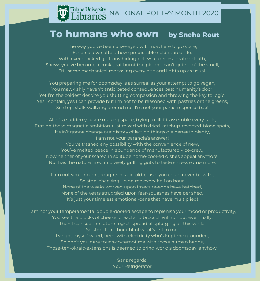 To humans who own