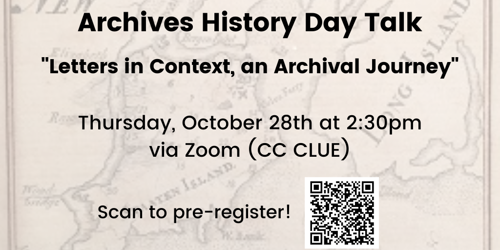 Archives History Day Talk,