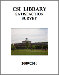 2010 Satisfaction Survey