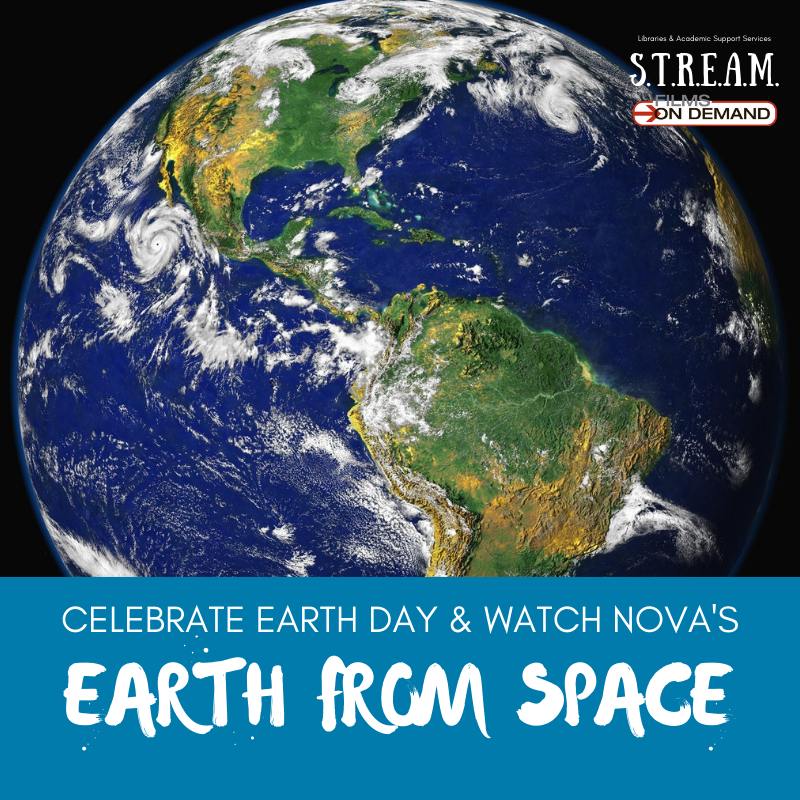 Celebrate Earth Day & watch NOVA's Earth from Space