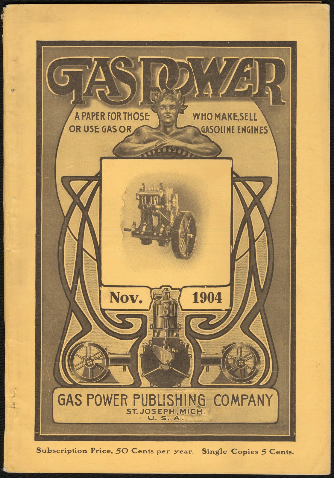 Cover of Gas Power magazine