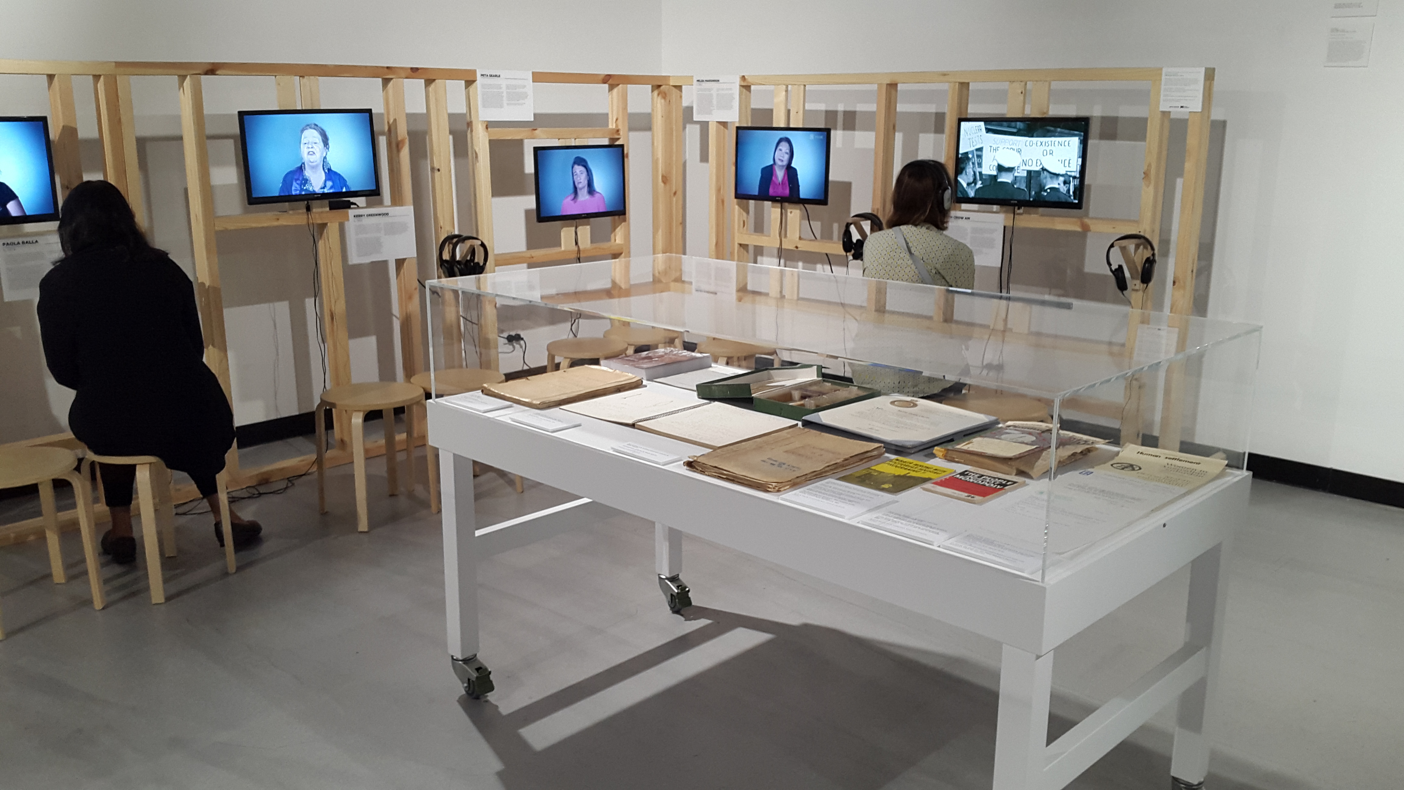 Women in the West exhibition space