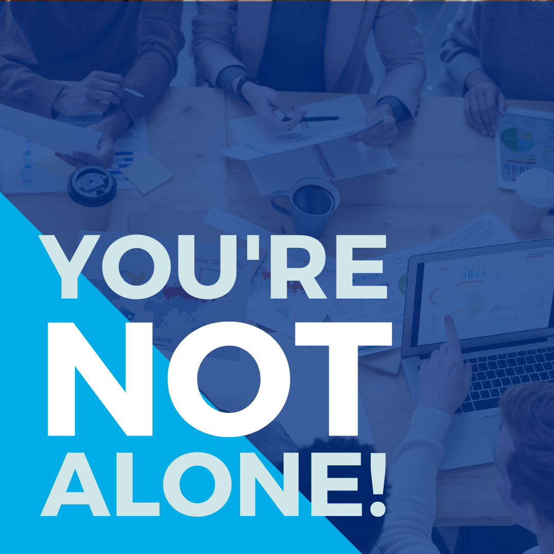 You're not alone!