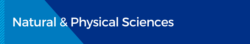 Natural & Physical Sciences