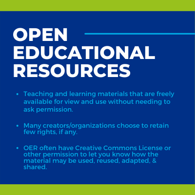 Open Educational Resources overview