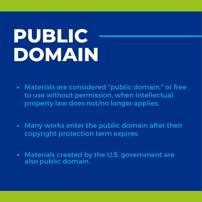 Public Domain overview
