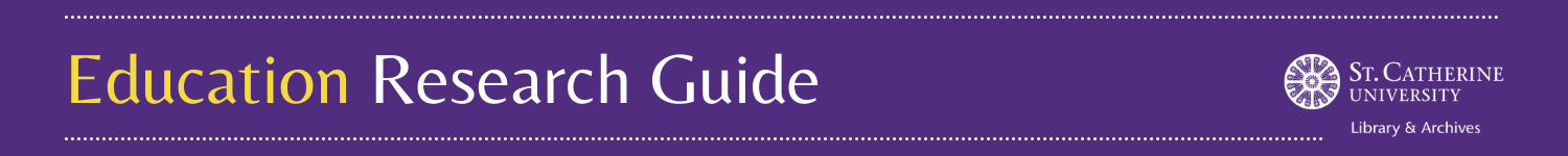 Education Research Guide