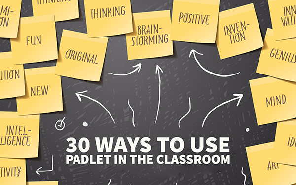 Decorative Image for 30 Ways to Used Padlet