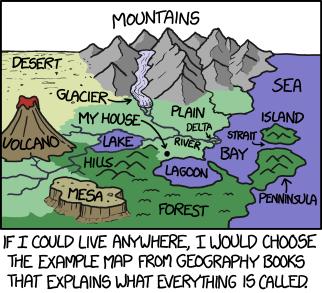 Geography Comic