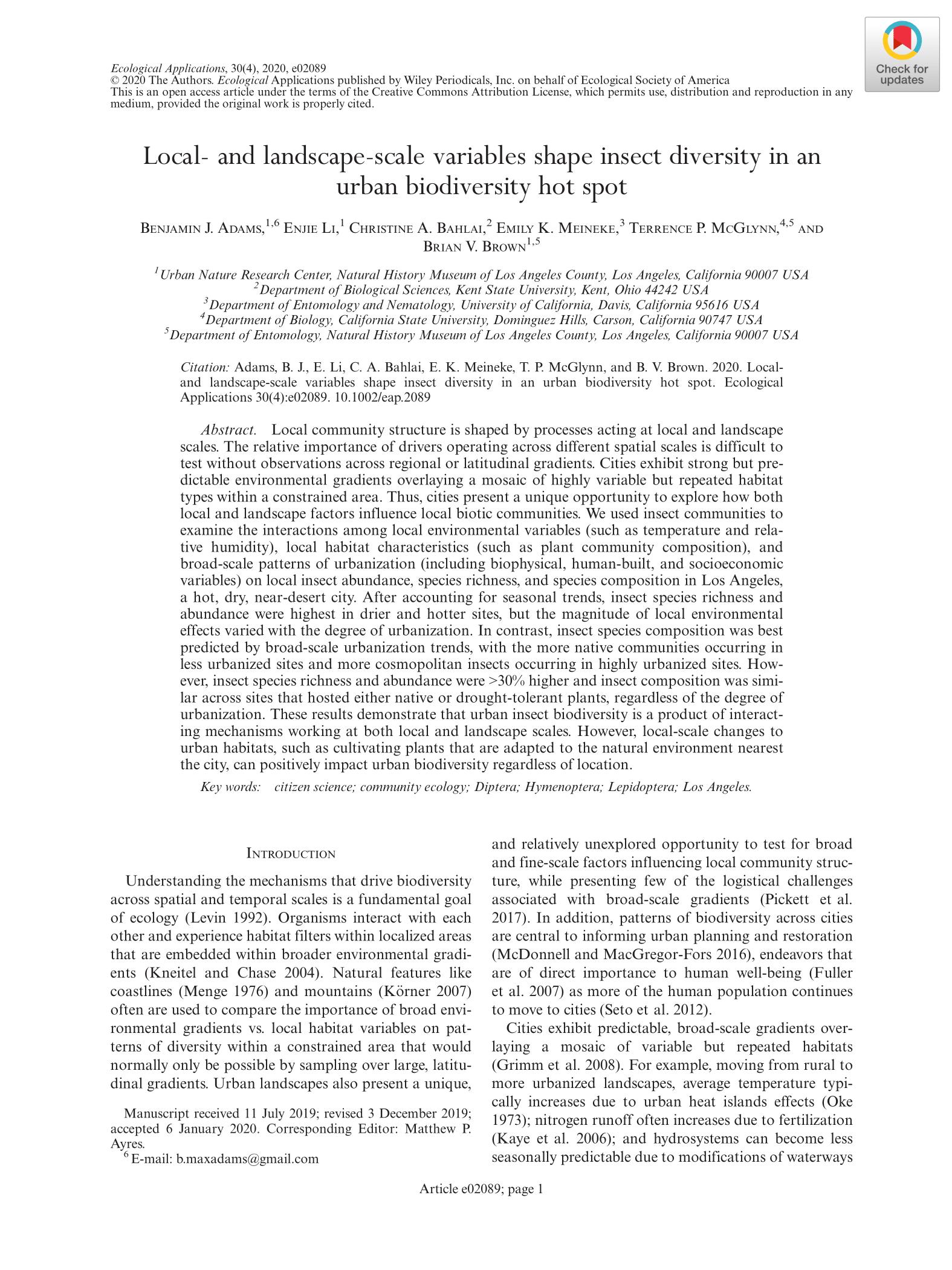 First page of Adams et al.