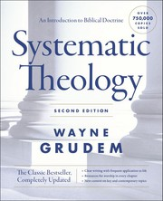 Book Cover Title: Systematic Theology