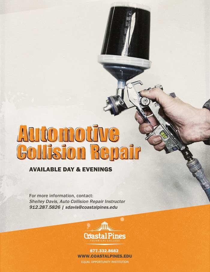 Automotive Collision Repair at Coastal Pines Technical College