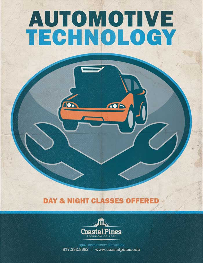 Automotive Technology at Coastal Pines Technical College