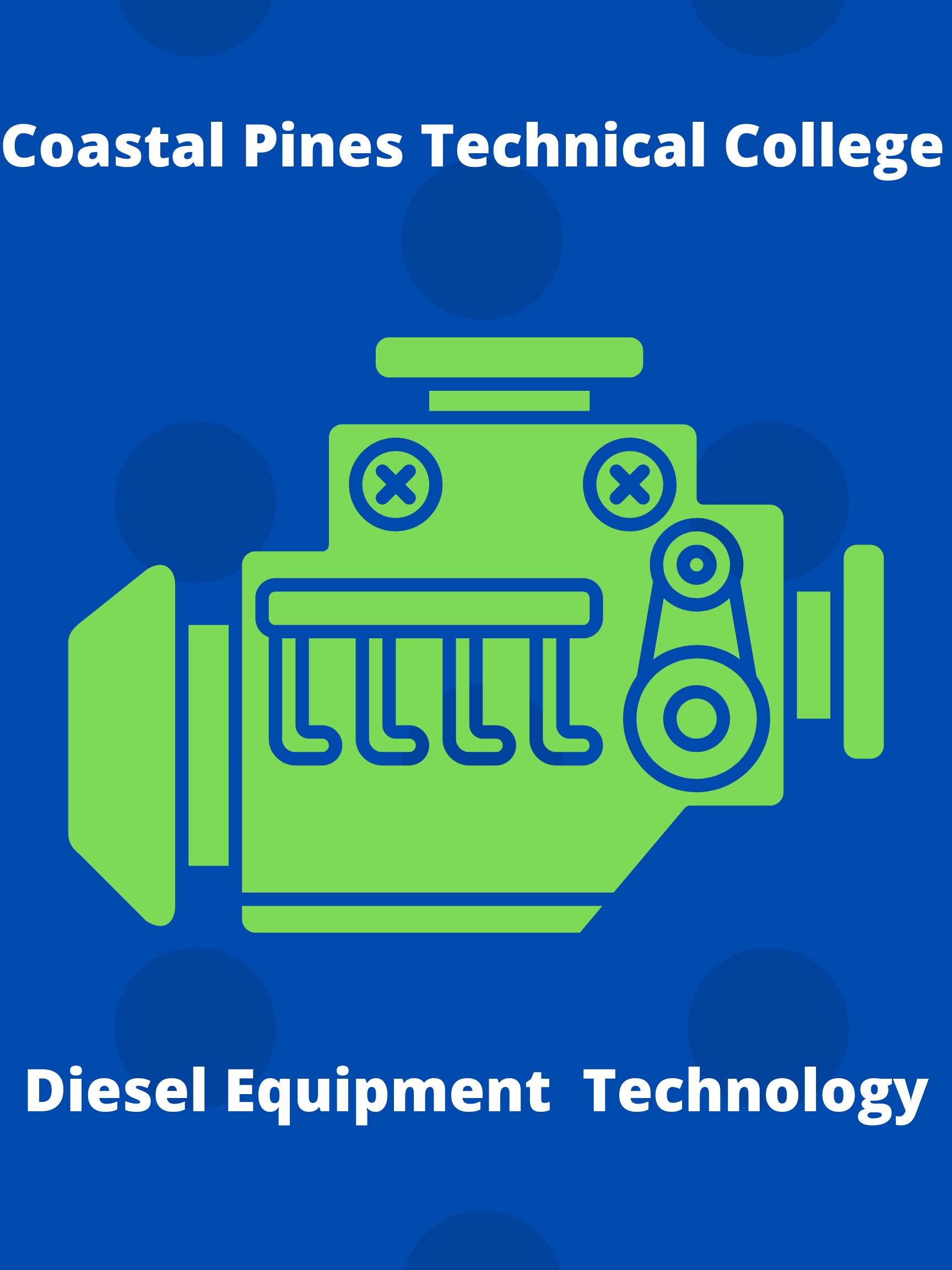 Coastal Pines Technical College Diesel Equipment Technology