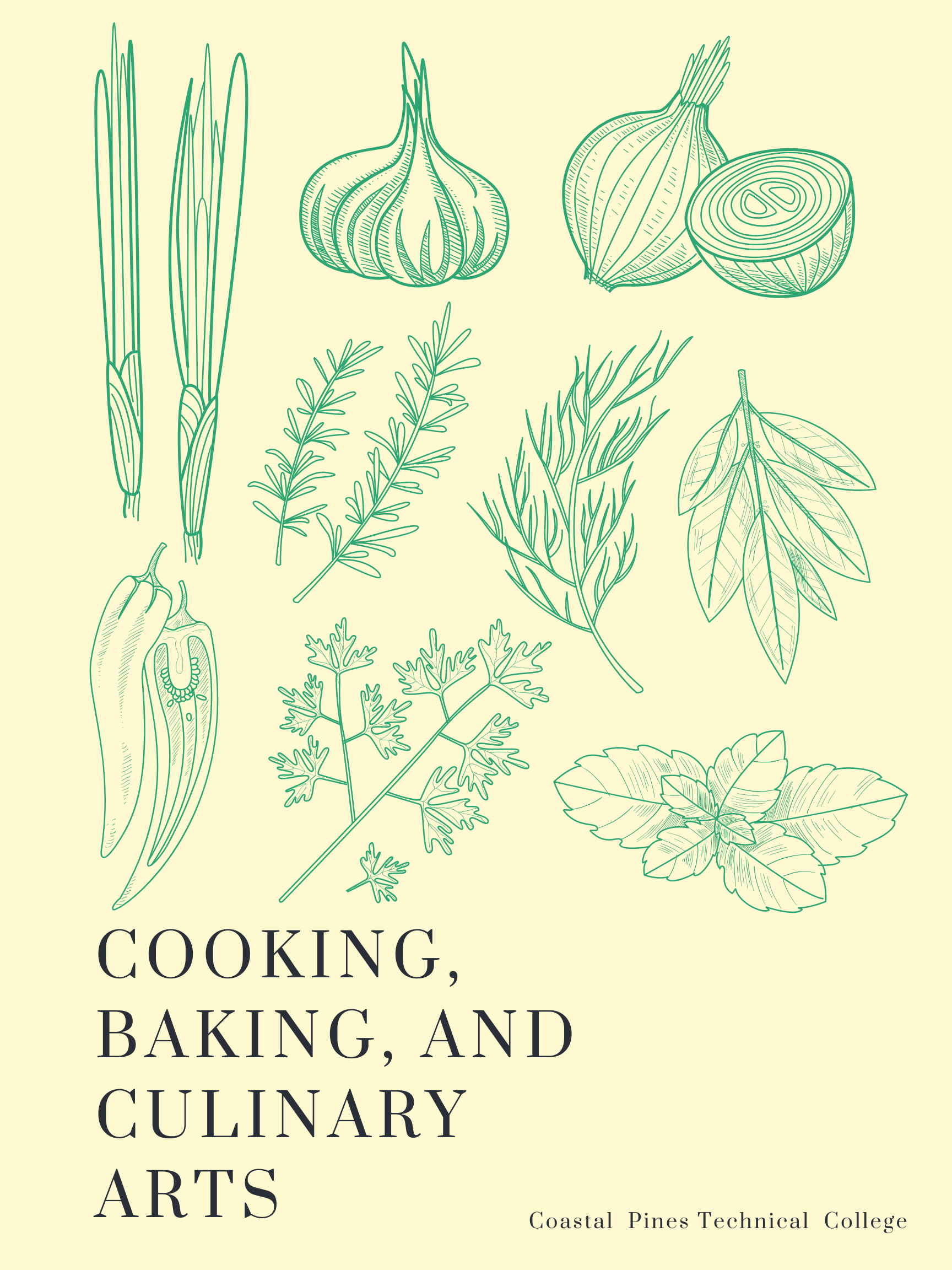 Cooking, Baking, and Culinary Arts