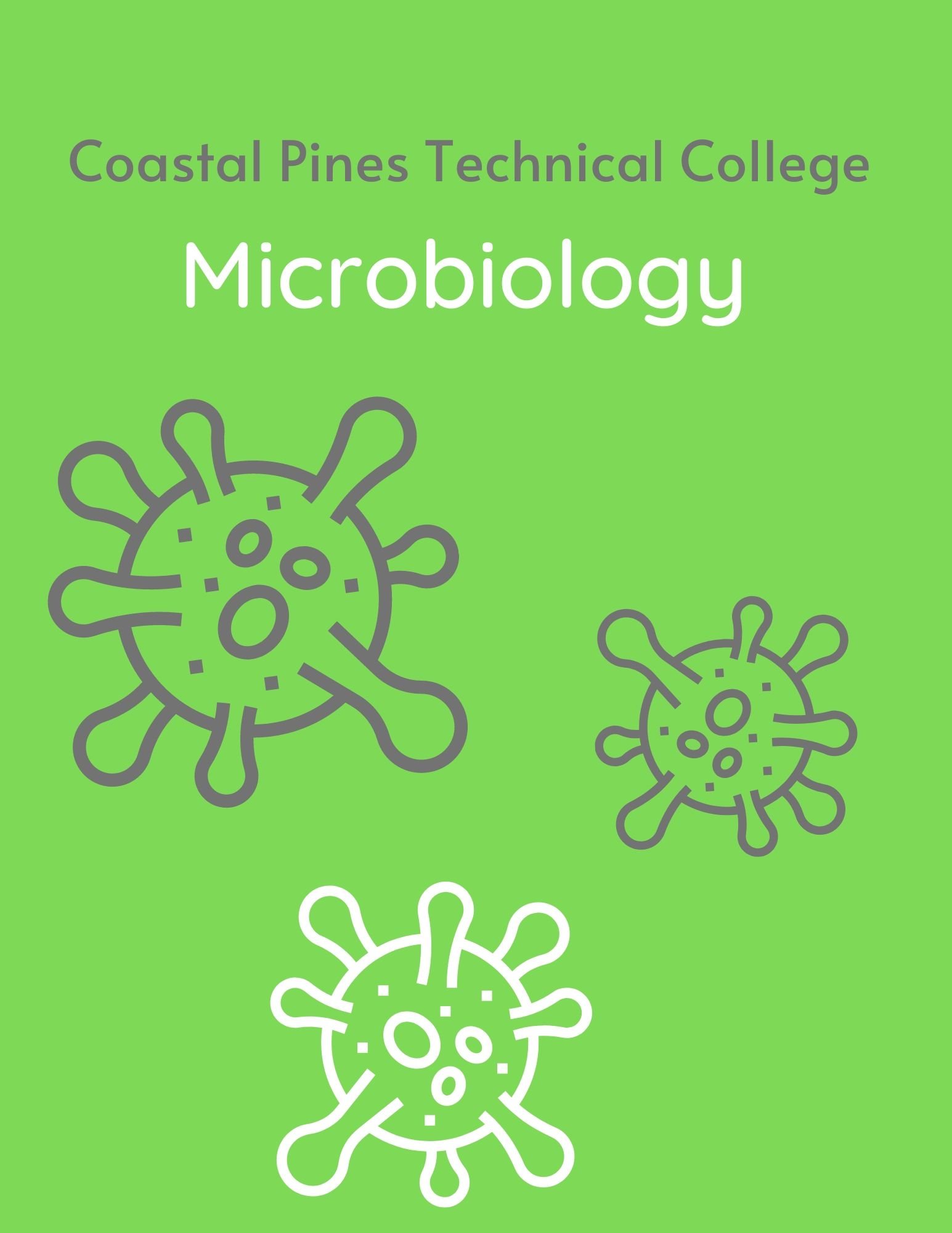 Coastal Pines Technical College Microbiology