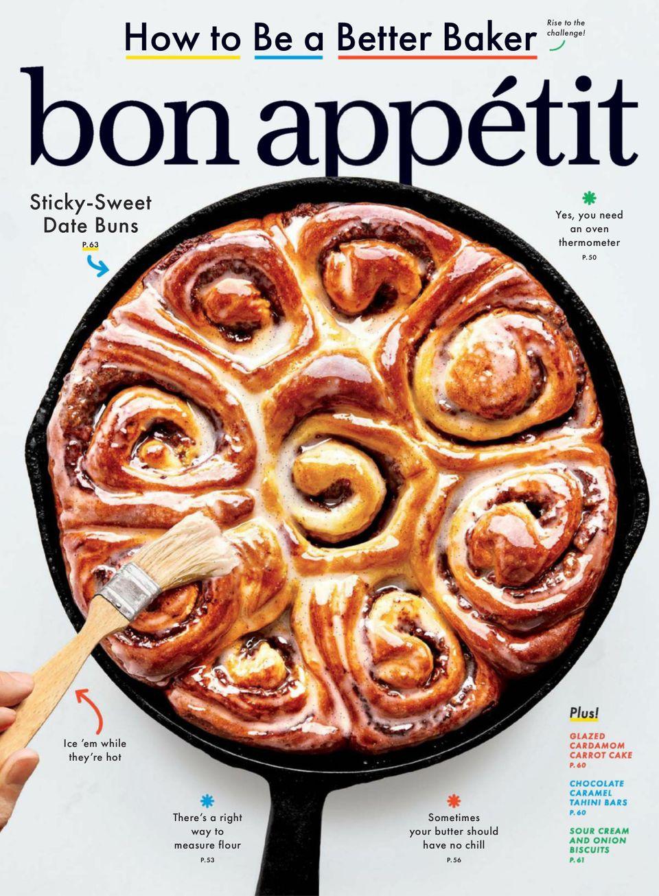 Bon Appetit Magazine Cover