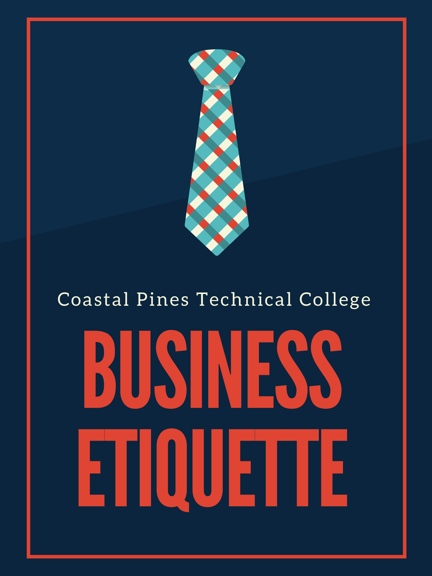 Coastal Pines Technical College Business Etiquette