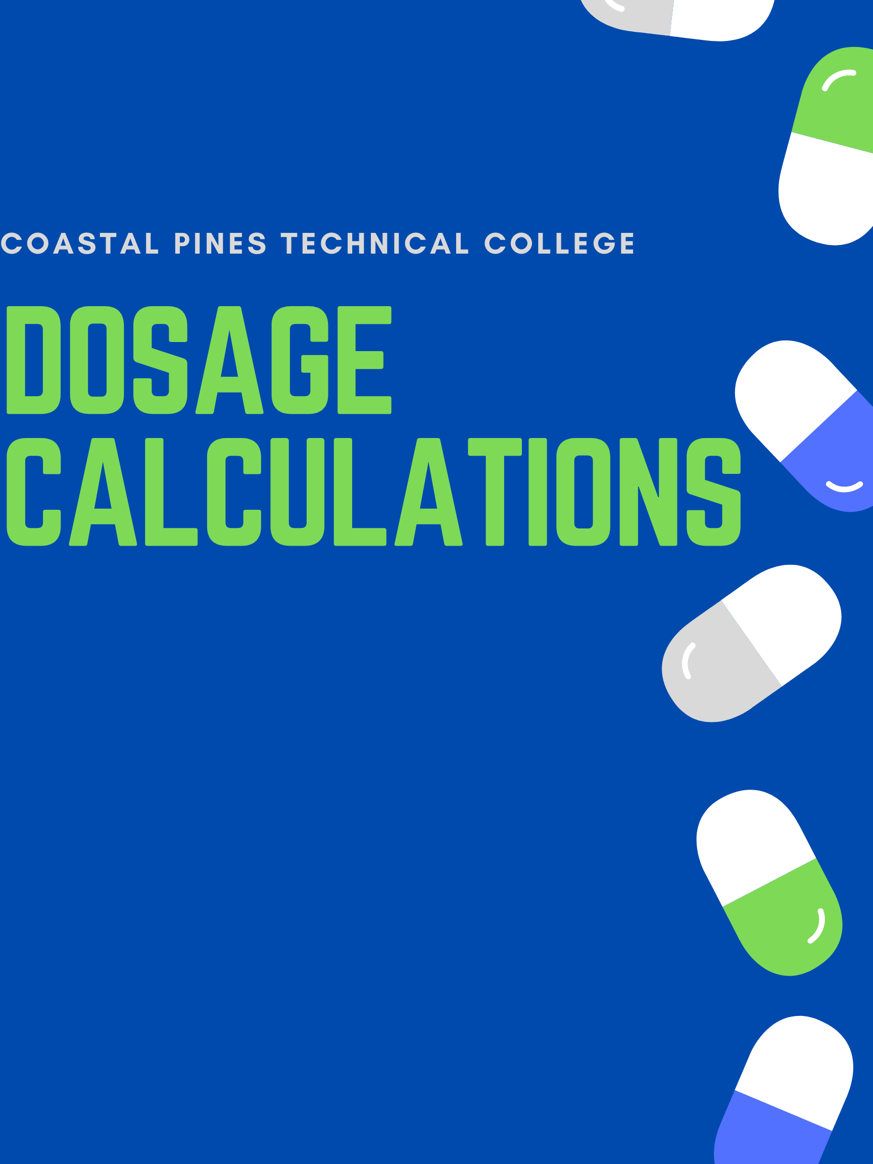 Coastal Pines Technical College Dosage Calculations