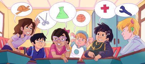 Natalie Brownlee- Tomorrow's Future, Today. Diverse children discuss STEM ideas
