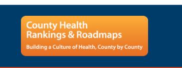 County Health Rankings & Roadmap link
