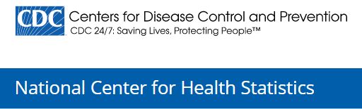 National Center for Health Statistics logo with link