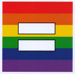 Rainbow Equality Sign