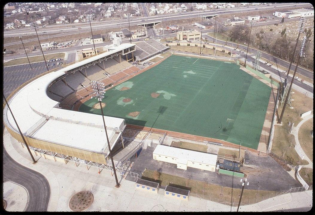 photo of Cooper Stadium, 1983