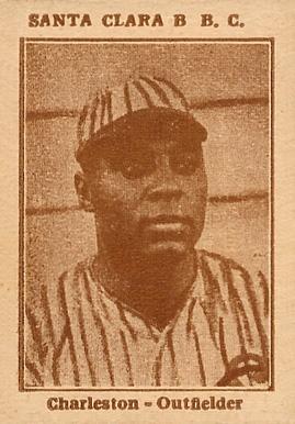 1923 Oscar Charleston baseball card image