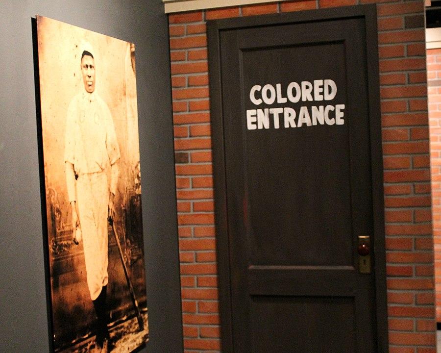 2014 Baseball Hall of Fame Negro League Exhibit featuring Josh Gibson