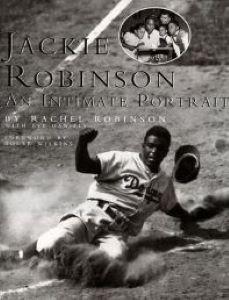 Jackie Robinson an Intimate Portrait book jacket