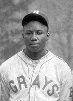 1931 photo of Josh Gibson in Grays uniform