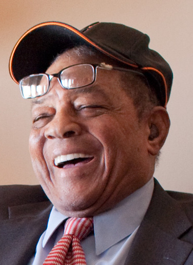 Willie Mays in Air Force One 2009-07-14