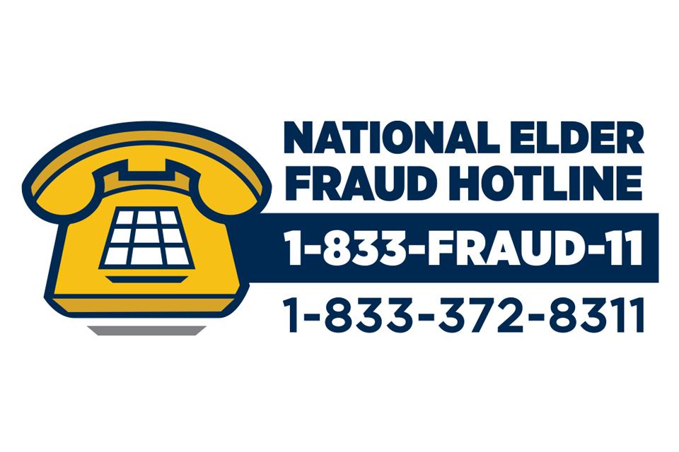 Elder Fraud Hotline Logo