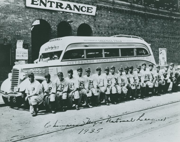 Champions Negro National League, 1935, the Pittsburgh Crawfords photo