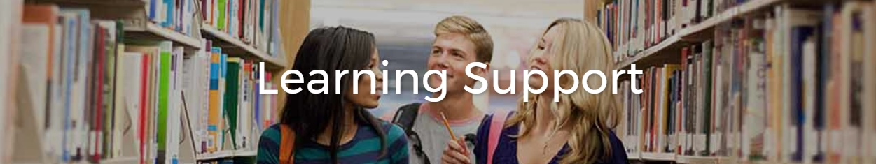 Learning Support Banner Image