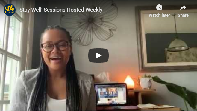 Stay Well Sessions video intro
