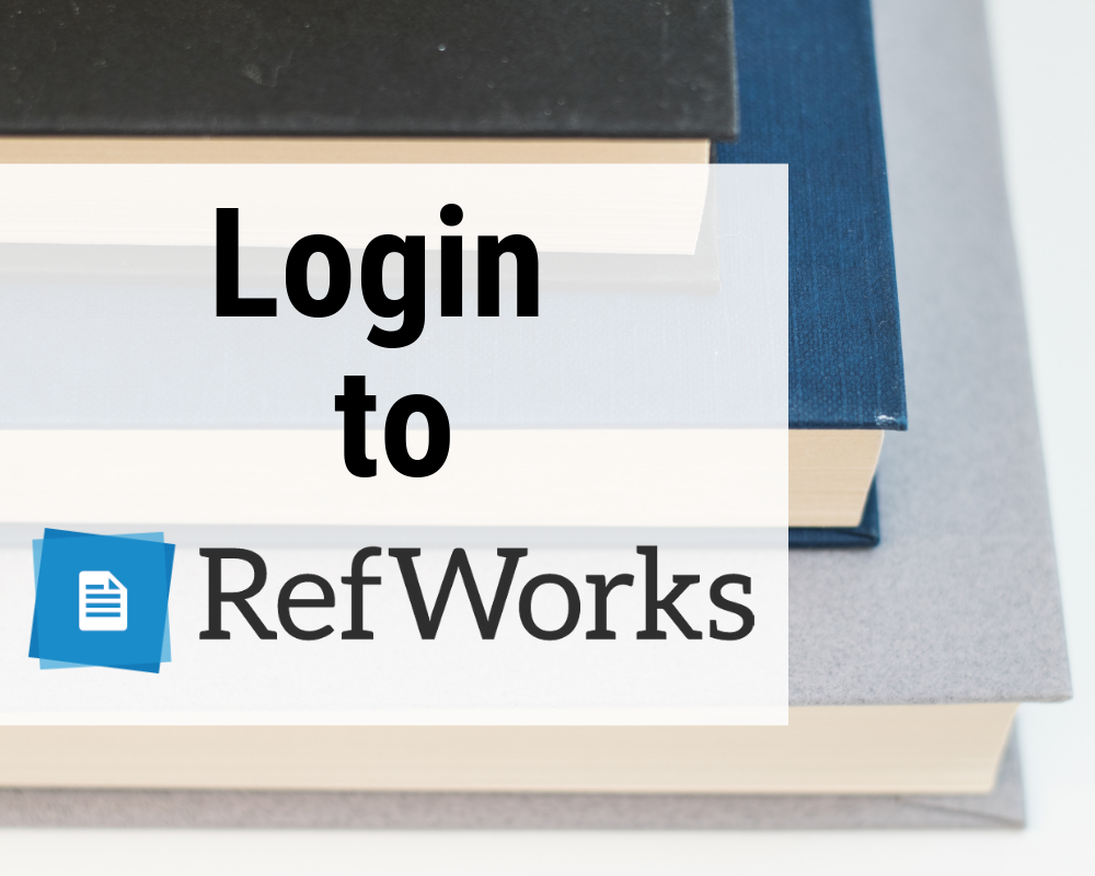 Login to RefWorks