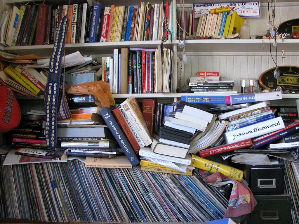 Disheveled books and media, I <3 Books, Music, Art & Photography by 666isMONEY ☮ ♥ & ☠