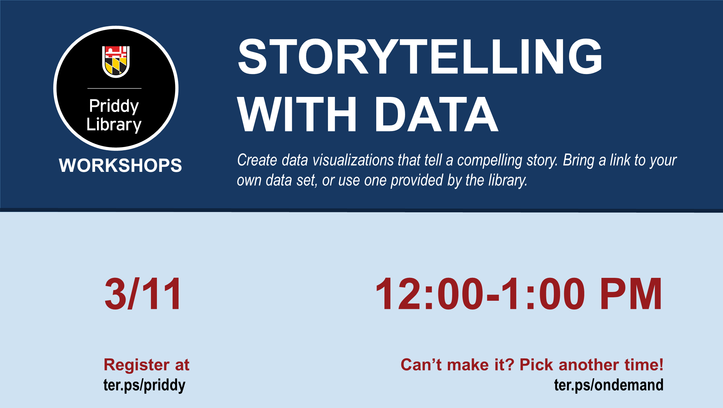 Storytelling with Data flyer
